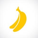 Bananenvektorzeichen Stockbild