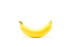 Bananer Mogna frukter som isoleras på vit bakgrund Arkivbilder