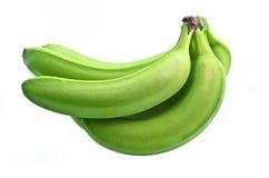 bananer samlar ihop green Arkivbilder