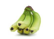 bananer samlar ihop green Arkivfoton