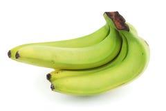 bananer samlar ihop green Royaltyfri Fotografi