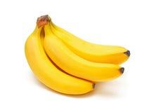 bananer samlar ihop moget Fotografering för Bildbyråer