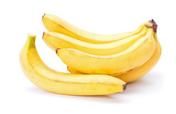 bananer samlar ihop moget Royaltyfri Bild