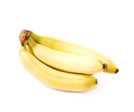 bananer samlar ihop moget Arkivfoto