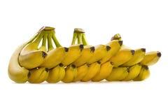 bananer samlar ihop moget Royaltyfria Bilder