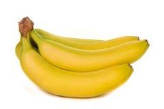bananer samlar ihop moget Royaltyfri Foto