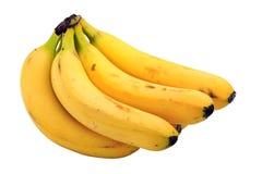 bananer samlar ihop moget Arkivfoton
