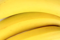 bananer stänger sig upp Arkivbilder