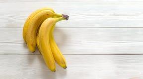 bananer stänger sig upp Royaltyfri Foto
