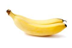 bananer två Fotografering för Bildbyråer
