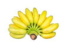Bananes d'isolement sur le blanc Photo stock
