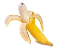 Bananes d'isolement sur le blanc Images stock