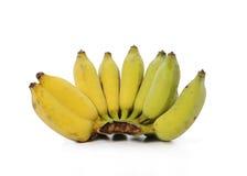 Bananes d'isolement sur le fond blanc Photo stock