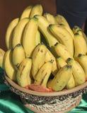 Bananes dans un panier Images libres de droits