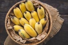 Bananes mûres fraîches Photographie stock libre de droits