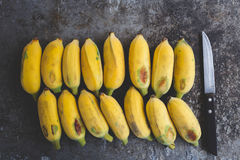 Bananes mûres fraîches Image libre de droits