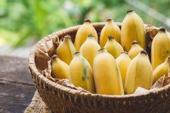 Bananes mûres fraîches Images libres de droits