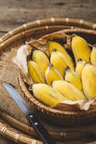 Bananes mûres fraîches Photo stock