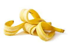Bananeschil Stock Afbeelding
