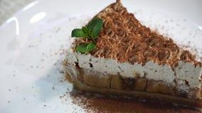 Banankaka med chokladchiper lager videofilmer