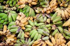 Bananmat för elefanter arkivbild