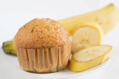 Bananmuffin Fotografering för Bildbyråer