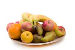 Bananna and other fruit Royalty Free Stock Photo