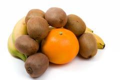 Bananna and other fruit Stock Photos