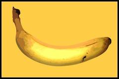 Bananowa plakatowa ilustracja Obrazy Stock