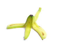 bananowa skórka obraz royalty free