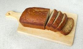bananowego chleba zbliżenie Obrazy Royalty Free
