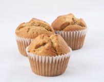 Bananowi muffins Fotografia Royalty Free
