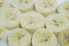 Bananowi plasterki, bańczaści Zdjęcie Stock