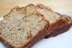 bananowy chleb Zdjęcie Royalty Free