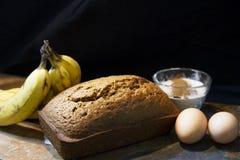 Bananowy chleb Obraz Royalty Free