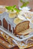 Bananowy chleb Zdjęcia Stock