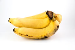 Bananowy dojrzenie Obrazy Royalty Free