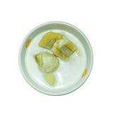 bananowy kokosowy mleko Zdjęcia Royalty Free