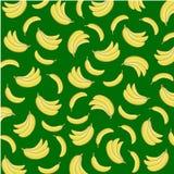 Bananowy lato wzór Zdjęcia Stock