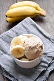 Bananowy lody Obraz Stock