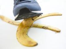 Bananowy oklepiec Zdjęcia Stock