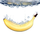 Bananowy pluśnięcie Zdjęcie Royalty Free