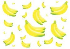 Bananowy skład Zdjęcie Stock