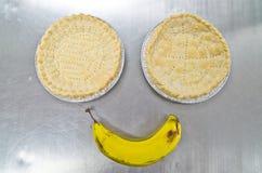 Bananowy uśmiech Obrazy Royalty Free