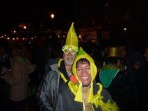 Bananpar. Royaltyfri Bild