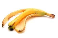 bananpeel s arkivfoto