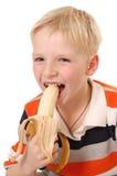 bananpojke Fotografering för Bildbyråer