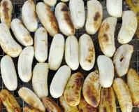 Bananrostat bröd Arkivbilder