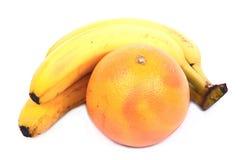 banany grapefruitowi Zdjęcie Royalty Free