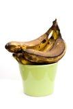 banany nad dojrzałym obraz stock